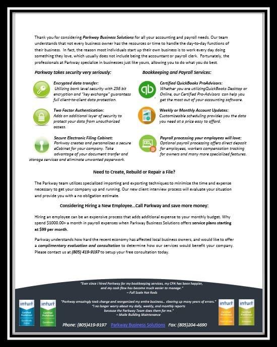 Online Bookkeeping Digital Security