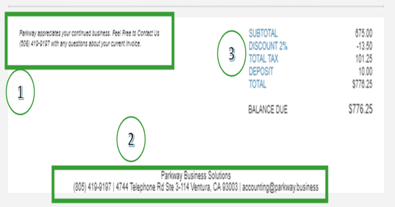 Will Your QuickBooks Online Invoice Pass The Impact Test - Quickbooks invoice subtotal