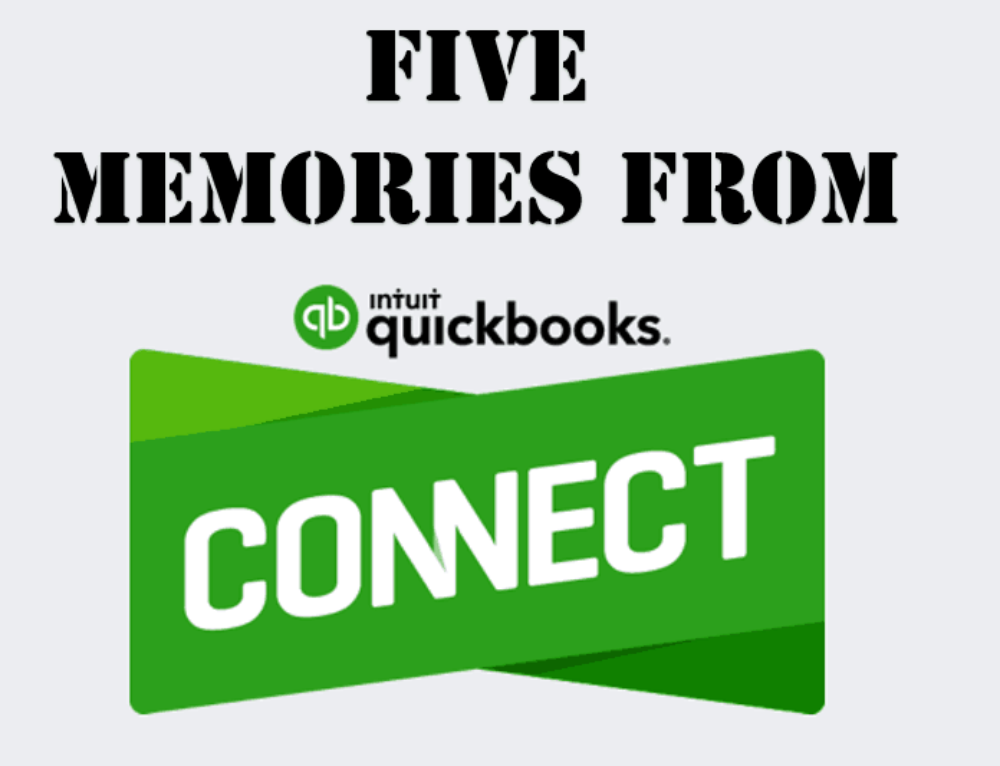 5 Memories from QuickBooks Connect