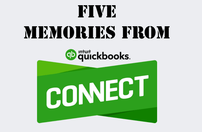 5 Memories from QuickBooks Connect Image