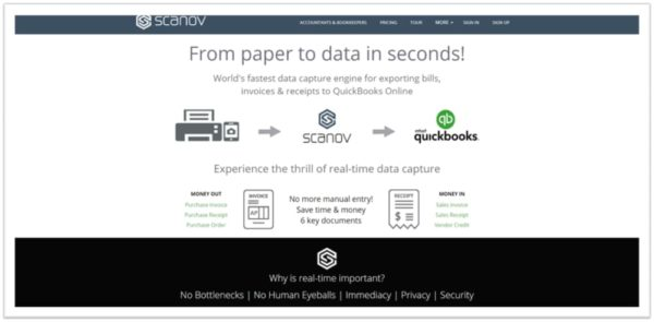 Scanov Homepage