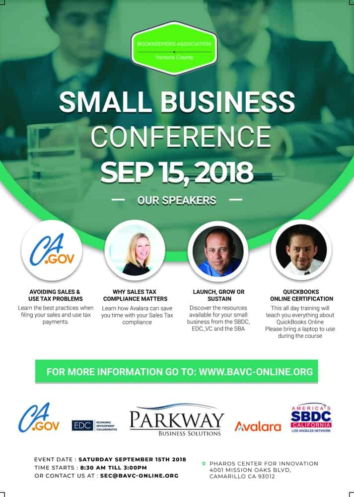 Bookkeepers Association of Ventura County Small Business Conference