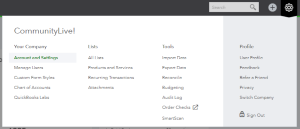 Using Projects in QuickBooks Online